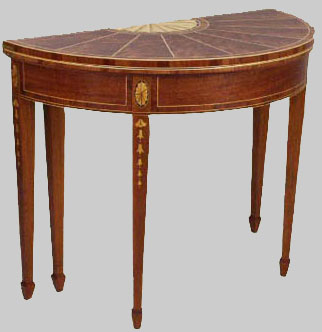 Early American Colonial Style Furniture On American Federal Period